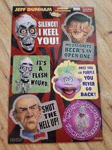 Jeff Dunham Funny Ventriloquist Comedian 6 Pc Magnet Set Comedy Central