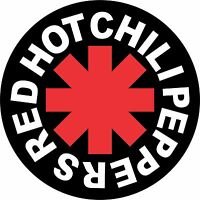 Red Hot Chili Peppers 2 Vinyl Sticker Decal Full Colour Band Logo