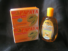 2 x RDL Papaya Whitening Soap & 1 x RDL Babyface Papaya Facial Cleanser 150ml