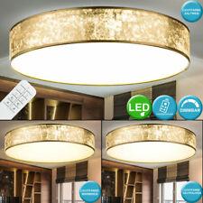 LED Decken Lampe dimmbar Wohn Zimmer Tages Licht Textil Leuchte FERNBEDIENUNG