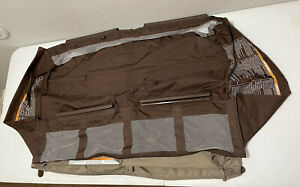 Graco Pack N Play Replacement Clip on Mesh BASSINET Insert W/ Storage. NO POLES