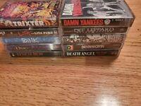 Lot Of 10 Vintage Grunge Metal Cassette Audio Tapes lynch mob, def Leppard more