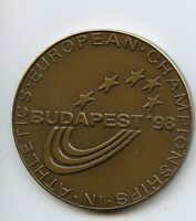 European Athletics Championships Budapest ' 98 Bronze Sport Medal Hungary