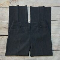 The Limited Cassidy Fit Dress Pants Size 4 Womens Gray Stretch
