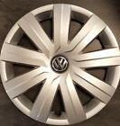 VW Jetta 2015-2016 Hubcap - Genuine Factory Volkswagen OEM 61594 Wheel Cover