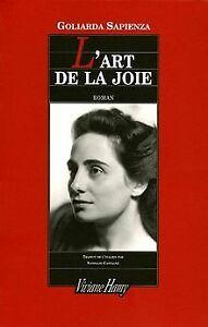 L'art de la joie de Goliarda Sapienza | Livre | état acceptable