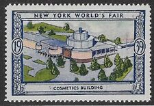 Usa Poster stamp:1939 New York World's Fair: Cosmetics Building - dw433/2