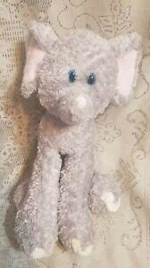 """First & Main Lankydoodle Elephant Plush 6064 Stuffed Animal Toy 11"""""""