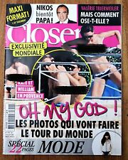 William and Kate French Magazine CLOSER issue 379 Middleton Royals