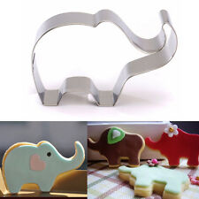 ELEPHANT COOKIE CUTTER Stainless Steel Biscuit Baking Mold Mould Cake Tool 1pc
