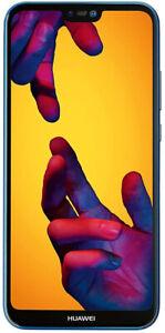 "Brand New Huawei P20 Lite Blue 5.84"" 64GB 4G LTE Octa Core Sim Free Unlocked UK"