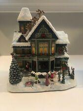 Hawthorne Village Thomas Kinkade Santa's On His Way