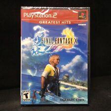Final Fantasy X (Sony PlayStation 2, 2001) BRAND NEW