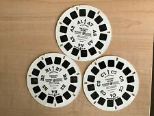 Vintage View-Master Treasure Island Classic Tales 3 Reel Set Packet BB 432