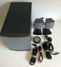 Bose Companion 3 Series II Multimedia Computer Speaker System w/ Manual COMPLETE