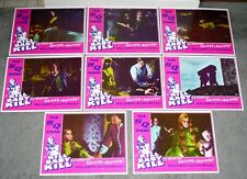 KILL BABY KILL original RARE MINT lobby card set MARIO BAVA 11x14 movie posters