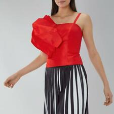 Coast - Flavia Top - Red - Size 14 (Brand New With Tags)
