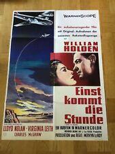 Einst kommt die Stunde (B), (Kinoplakat '57) - William Holden / Virginia Leith