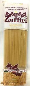 100% Latium Spaghetti ANTICOPASTIFICO Pasta 10x500g neue Linie Limited Edizione