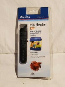 Aqueon 10W Mini Heater For Desktop Aquariums Up To 5 Gallons