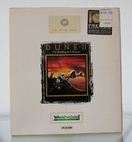 Dune II 2 PC CD-Rom Video Game The White Label Westwood Studios Rare Bix Box