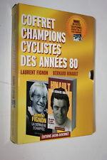 Champions cyclistes 1980 - Coffret 2 volumes Laurent Fignon & Bernard Hinault