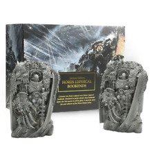Limited Edition Horus Lupercal Bookends - Black Library Horus Heresy Warhammer