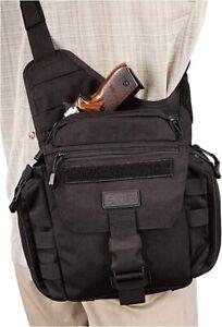 New 5.11 tactical Push Pack Sling pack Gear Shoulder Bail Out Bag Black 56037