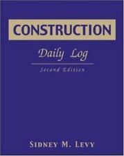 Construction Daily Log (Paperback or Softback)
