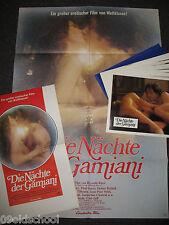 DIE NÄCHTE DER GAMIANI 18 Aushangfotos + Plakate  Pourvu qu'on ait l'ivresse SEX