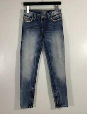 NWOT Affliction Raquel Jeans Skinny Zipper Side Ankle Sz 28