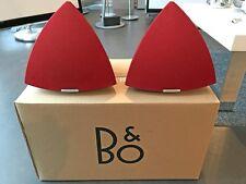 1 Paar BANG & OLUFSEN BeoLab 4 Aktiv-Lautsprecher - Rot w. NEU