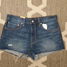 NWT Levi's 501 Jean Shorts Distressed Cutoffs, Size 30