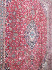 A FASCINATING OLD HANDMADE TRADITIONAL ORIENTAL CARPET.(381 X 292 cm)