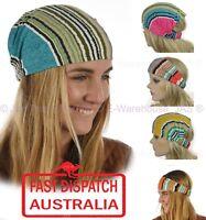 Cotton Stripe Hair Head Band Wrap Headband Hairband Chemo Stretch Headwrap Scarf