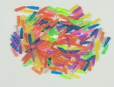 """Lot of 180+ Lite Bright Replacement Pegs 7/8"""" Long Assorted Colors"""