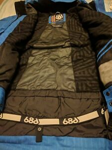 $280 686  MANDATE MEN SKI SNOWBOARD INSULATED Nylon Oxford JACKET DC Burton XL
