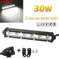 7inch BAR 3000LM 30W Spot LED Car Work Light OFFROAD OSRAM LED DRIVING HEADLAMP