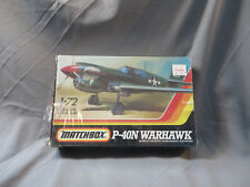 Matchbox 1:72 P-40N Warhawk Model Kit 40031