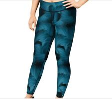 Champion Women's Plus Absolute Printed Tights with SmoothTech Faded Indigo 3X