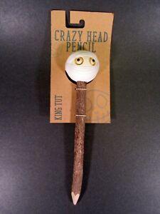 Crazy Head Wood Pencil King Tut Eco-Friendly NEW