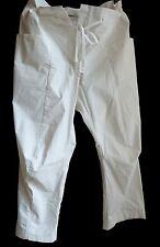 ☆★☆ ANNETTE GÖRTZ 7/8 Pantalon, Taille 46, blanc crème (Ivoire)