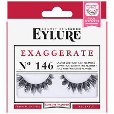 """EYLURE FALSE EYELASHES No 146 EXAGGERATE """"BRAND NEW"""""""