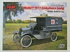 ICM Model T 1917 Ambulance AAFS Car, WW I , Bausatz Kit 1:35, 35665, 116 Teile