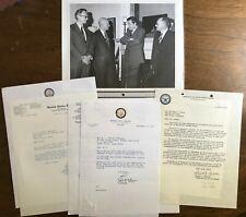 William Ginkel - Atomic Energy Idaho - Lot Letters, Photo - Manhattan Project