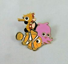 Disney Pin - Finding Nemo - Booster Collection - Nemo, Sheldon and Pearl