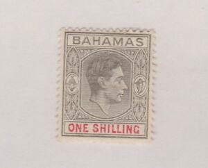 BAHAMAS  110 One Shilling Geo VI  mint HR 1938