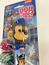 Flix Candy Pop Ups Collectible Paw Patrol CHASE Hero Pup Lollipop Holder AS IS