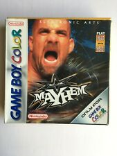WCW Mayhem Wrestling Nintendo Gameboy Color Colour Boxed Game
