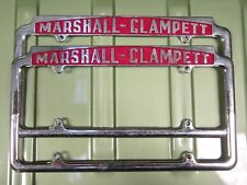 Marshall-Clampett DeSoto Plymouth Studebaker LOS ANGELES CA License Plate Frames